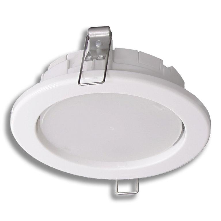 PLANEX 5 VA led valaisin upotettava pieni valkea 5 W 4107124